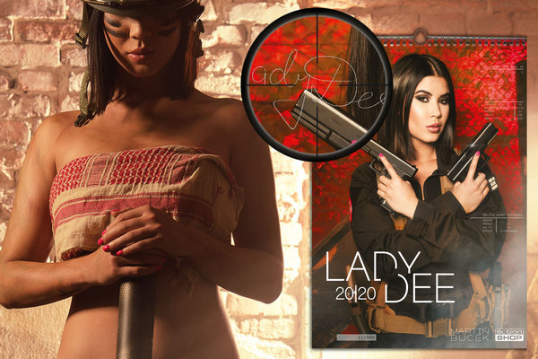 Lady Dee 2020 Calendar - Signed Edition